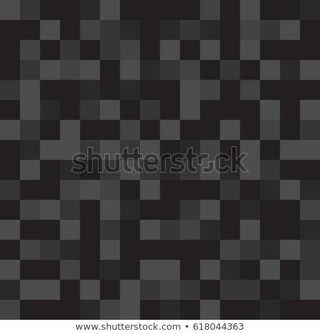 Absztrakt pixel illusztráció végtelenített színes négyzetek Stock fotó © ukasz_hampel