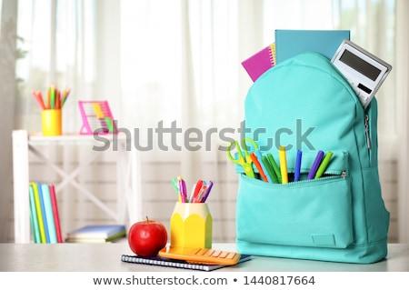 学校 黒板 コピースペース 図書 ペン ストックフォト © pkdinkar