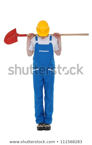 earthwork worker looking down Stock photo © photography33