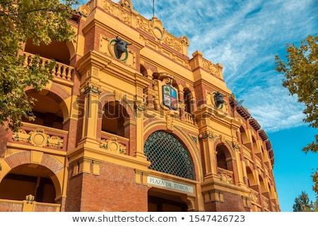 Plaza de Toros La Misericordia in Zaragoza Stock photo © aladin66