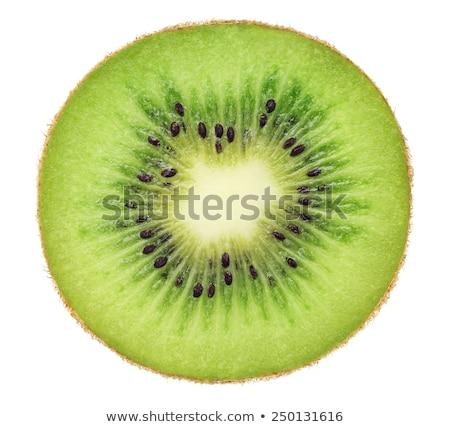 киви ломтик зеленый желтый фрукты Сток-фото © REDPIXEL