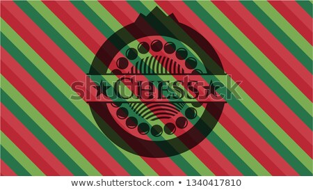 Chess crest with pawn and queen. vector illustration  Stock photo © carodi