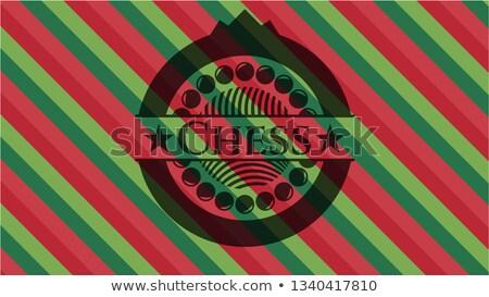 Schaken kuif pion koningin witte patroon Stockfoto © carodi
