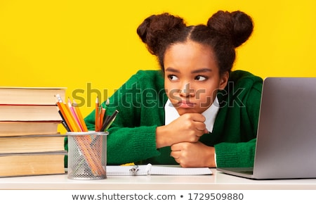 Overwhelmed student Stock photo © photography33