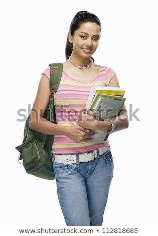 Jonge intellectueel bestanden gelukkig werk Stockfoto © photography33