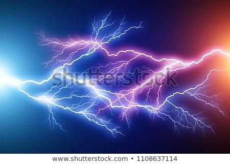 Niebieski osoczu obraz bezszwowy niebo charakter Zdjęcia stock © magann