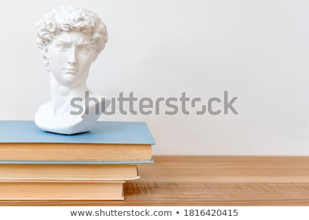 Bust and Bookshelf Stock photo © tepic