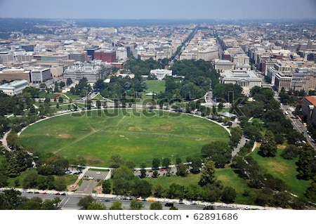 表示 · ワシントンDC · 白い家 · ワシントン記念塔 · 家 - ストックフォト © hofmeester