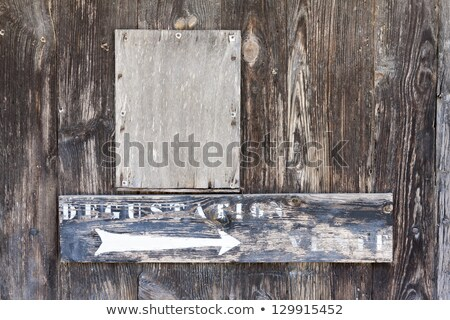 sign for wine tasting, Monbazillac, Aquitaine, France Stock photo © phbcz