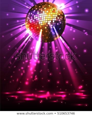 Disco Ball Dance Night Stock photo © Lightsource