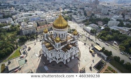Tapınak Mesih kurtarıcı Moskova bulutlu gün Stok fotoğraf © AndreyKr