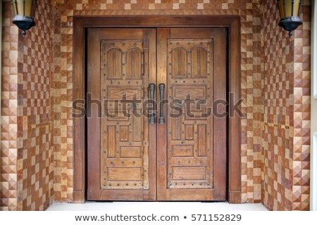 palacio · entrada · puerta · India · oro · arquitectura - foto stock © mikko