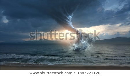 tornado at ocean stock photo © mike_expert