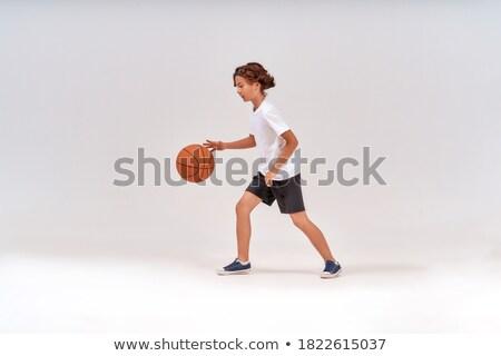 少年 · 小 · ボール - ストックフォト © get4net