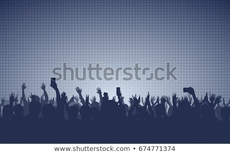 abstract musical background with raise Stock photo © rioillustrator