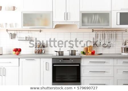 cocina · estufa · vintage · aluminio · otro - foto stock © hraska
