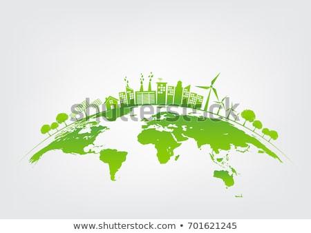 Green ecology architecture Stock photo © ixstudio