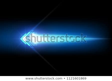 Fény nyíl magas döntés 3D kép Stock fotó © silense