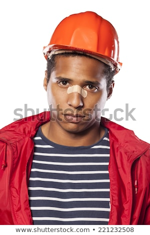 Engineer hitting a construction worker over the head Stock photo © photography33