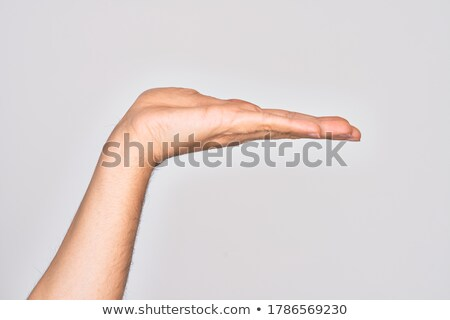 Mãos produto isolado mão mulheres Foto stock © pxhidalgo