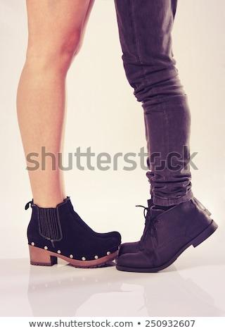 女性 · 脚 · パンスト · 靴 · ハイヒール · 孤立した - ストックフォト © elnur