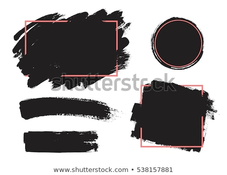 dribbelen · grunge · twee · inkt · ontwerpen · verf - stockfoto © burakowski