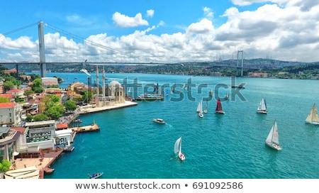 İstanbul toplama güzel fotoğrafları Türkiye köprü Stok fotoğraf © sailorr