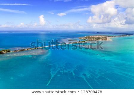 farol · furacão · caribbean · praia · água · natureza - foto stock © meinzahn