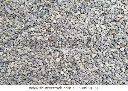 ghiaia · texture · sfondo · sabbia · pietra · nero - foto d'archivio © icefront