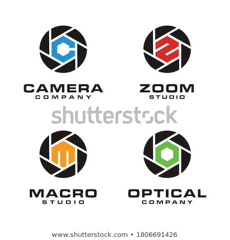 Photography Aperture Logo Stock photo © shawlinmohd