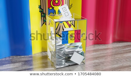 Ballot box Moldova Stock photo © Ustofre9