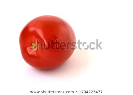 Fresh red tomato isoated on white Stock photo © bloodua