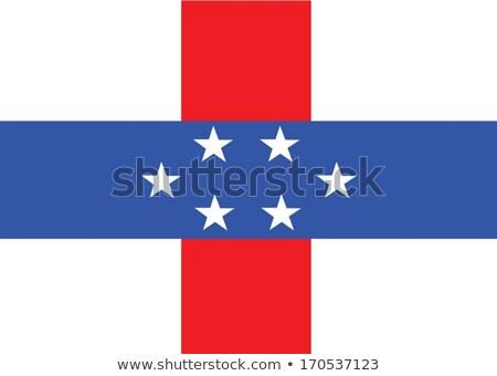 Netherlands Antilles flag themes idea design Stock photo © kiddaikiddee
