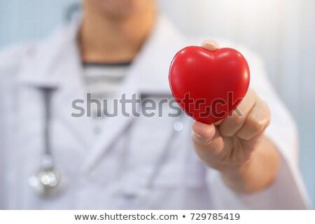 hartziekte · voedsel · medische · gezondheidszorg · menselijke · hart - stockfoto © oleksandro