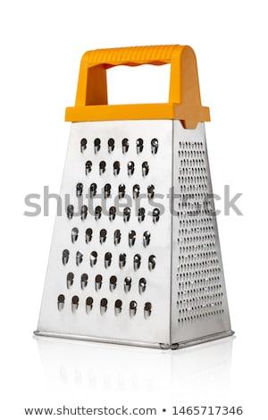 おろし金 金属 キッチン ツール 銀 詳細 ストックフォト © Sarkao