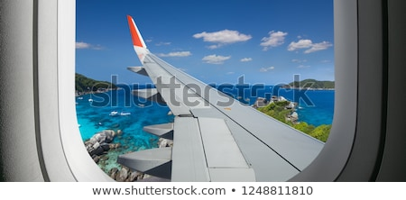 Vacances destination Voyage océan shell tropicales Photo stock © Lightsource