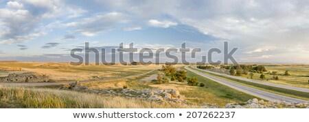 északi Colorado préri panoráma panorámakép kilátás Stock fotó © PixelsAway