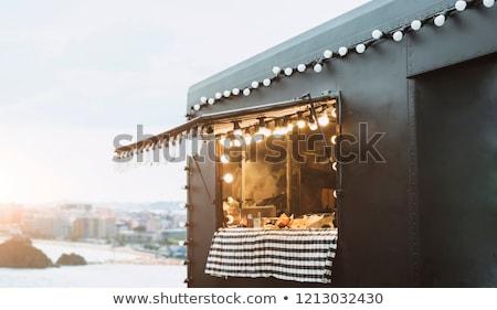 Street food concept Stock photo © vavlt