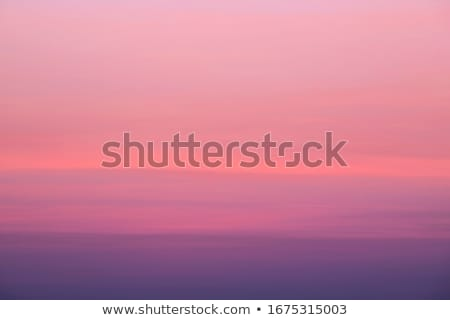 abstract nature sky background with pink sunrise Stock photo © lem