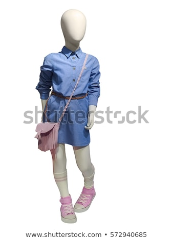 ребенка манекен изолированный белый тело модель Сток-фото © gemenacom