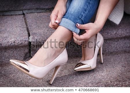 Heels close up Stock photo © pmphoto