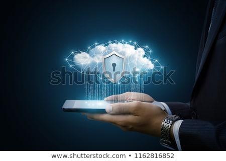 Cloud technology concept image to show data storage Stock photo © DavidArts