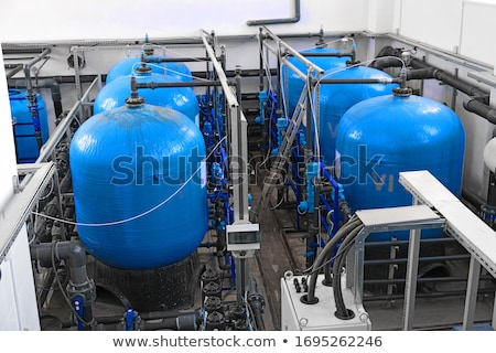 water filters treatment inside of plant Stock photo © mady70