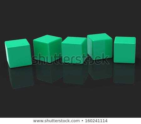 Dados cópia espaço cassino sucesso branco numerário Foto stock © PokerMan