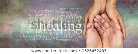 必要 · 手 · 外に · サポート · 宗教 · 友情 - ストックフォト © 3mc