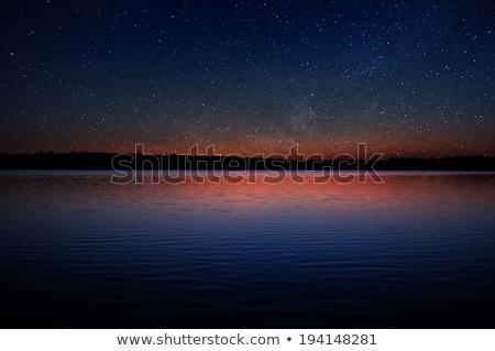 Zdjęcia stock: Magic · real · zachód · słońca · niebo · fantastyczny · chmury
