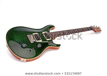 Maple Top Guitar Stock photo © Bigalbaloo