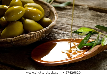extra virgin olive oils rustic style stock photo © marimorena