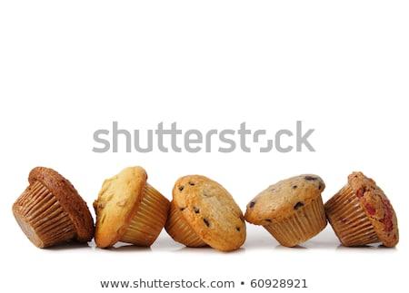 kávé · csokoládé · minitorták · krém · fehér · vanília - stock fotó © digifoodstock