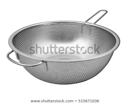Stainless Steel Colander Stock photo © dezign56
